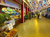 Αγορά τροφίμων - Νιουκάσλ - Αγγλία στοκ φωτογραφία
