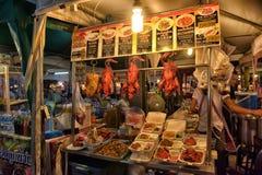 Αγορά τροφίμων νύχτας σε Pattaya Στοκ εικόνα με δικαίωμα ελεύθερης χρήσης