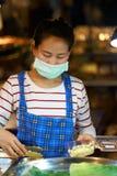 Αγορά τροφίμων νύχτας Στοκ Φωτογραφίες