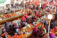 Αγορά τροφίμων σε Gomel. Στοκ Εικόνες