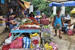 Αγορά τροφίμων των Φιλιππινών Στοκ Φωτογραφία