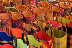 αγορά τσαντών Στοκ Εικόνες