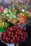 Αγορά φρέσκων προϊόντων στο Leon, Νικαράγουα στοκ εικόνες