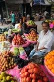 Αγορά φρούτων σε Kolkata Στοκ Εικόνες