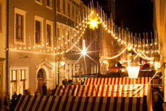 Αγορά Χριστουγέννων σε Goerlitz Στοκ εικόνες με δικαίωμα ελεύθερης χρήσης