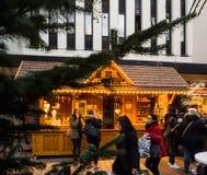 Αγορά Χριστουγέννων στη Γερμανία Στοκ Εικόνα