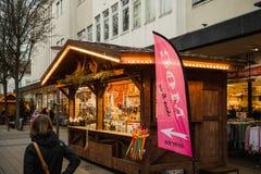 Αγορά Χριστουγέννων στη Γερμανία Στοκ εικόνα με δικαίωμα ελεύθερης χρήσης