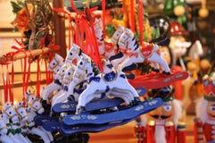 Αγορά Χριστουγέννων στη Γερμανία Στοκ φωτογραφία με δικαίωμα ελεύθερης χρήσης