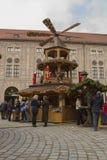 Αγορά Χριστουγέννων στο Μόναχο Στοκ Εικόνες