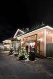 Αγορά Χριστουγέννων στο λούνα παρκ Liseberg στο Γκέτεμπουργκ, Σουηδία Στοκ Εικόνα