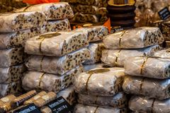 Αγορά Χριστουγέννων της Δρέσδης στοκ εικόνα με δικαίωμα ελεύθερης χρήσης