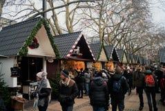 Αγορά Χριστουγέννων της Κολωνίας Στοκ φωτογραφία με δικαίωμα ελεύθερης χρήσης