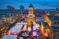 αγορά Χριστουγέννων του Βερολίνου Στοκ φωτογραφία με δικαίωμα ελεύθερης χρήσης
