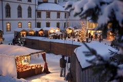 αγορά Χριστουγέννων Στοκ εικόνες με δικαίωμα ελεύθερης χρήσης