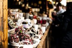 Αγορά Χριστουγέννων Στοκ εικόνα με δικαίωμα ελεύθερης χρήσης