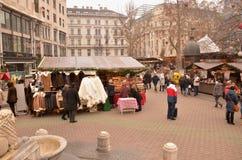 Αγορά Χριστουγέννων Στοκ φωτογραφία με δικαίωμα ελεύθερης χρήσης