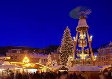 Αγορά Χριστουγέννων annaberg-Buchholz Στοκ εικόνες με δικαίωμα ελεύθερης χρήσης