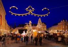 Αγορά Χριστουγέννων annaberg-Buchholz Στοκ φωτογραφία με δικαίωμα ελεύθερης χρήσης