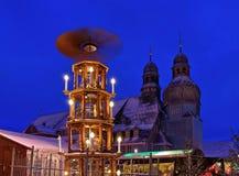 Αγορά Χριστουγέννων clausthal-Zellerfeld Στοκ Φωτογραφία