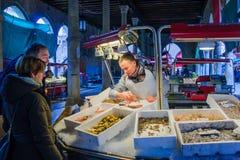 Αγορά ψαριών, Βενετία Στοκ φωτογραφία με δικαίωμα ελεύθερης χρήσης