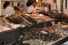 Αγορά ψαριών, Σαντιάγο de Χιλή Στοκ εικόνα με δικαίωμα ελεύθερης χρήσης