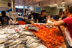 Αγορά ψαριών του Σίδνεϊ Στοκ εικόνες με δικαίωμα ελεύθερης χρήσης