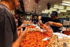 Αγορά ψαριών του Σίδνεϊ Στοκ Εικόνα