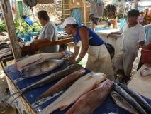 Αγορά ψαριών. στοκ εικόνες