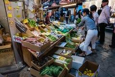 Αγορά ψαριών Ichiba Ohmicho στην Ιαπωνία Στοκ Εικόνες