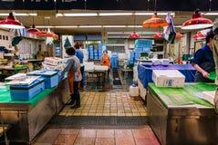 Αγορά ψαριών Ichiba Ohmicho στην Ιαπωνία Στοκ Φωτογραφίες