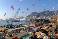 Αγορά ψαριών Jagalchi, Busan Στοκ Φωτογραφίες