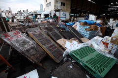 Αγορά ψαριών Tsukiji Στοκ εικόνες με δικαίωμα ελεύθερης χρήσης