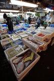 Αγορά ψαριών Tsukiji Στοκ φωτογραφίες με δικαίωμα ελεύθερης χρήσης