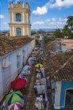 Αγορά Artisans στο Τρινιδάδ, Κούβα Στοκ φωτογραφία με δικαίωμα ελεύθερης χρήσης