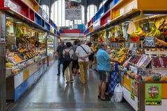 Αγορά Atarazanas στη Μάλαγα, Ισπανία στοκ φωτογραφίες
