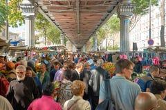 Αγορά Barbes Στοκ φωτογραφία με δικαίωμα ελεύθερης χρήσης