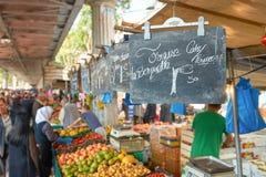 Αγορά Barbes Στοκ εικόνες με δικαίωμα ελεύθερης χρήσης