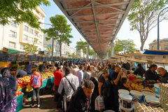 Αγορά Barbes Στοκ Φωτογραφία