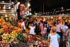 Αγορά Boqueria στοκ φωτογραφίες