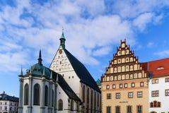 Αγορά Freiberg θόλων Στοκ εικόνα με δικαίωμα ελεύθερης χρήσης