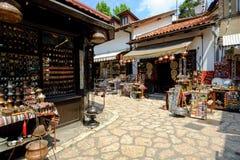 Αγορά ija arÅ ¡ BaÅ ¡ 5$α  στο Σαράγεβο Στοκ εικόνα με δικαίωμα ελεύθερης χρήσης