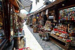 Αγορά ija arÅ ¡ BaÅ ¡ 5$α  στο Σαράγεβο Στοκ εικόνες με δικαίωμα ελεύθερης χρήσης