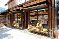 Αγορά ija arÅ ¡ BaÅ ¡ 5$α  στο Σαράγεβο Στοκ φωτογραφία με δικαίωμα ελεύθερης χρήσης