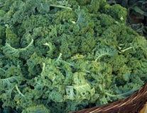 Αγορά Kale αγροτών Στοκ Φωτογραφίες