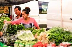 Αγορά Kauai της Farmer ` s στοκ φωτογραφία