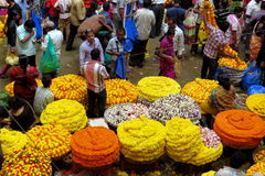 Αγορά KR στη Βαγκαλόρη! Στοκ Εικόνα