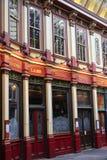 Αγορά Leadenhall που καλύπτεται αγορές arcade Στοκ φωτογραφία με δικαίωμα ελεύθερης χρήσης