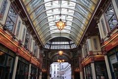 Αγορά Leadenhall που καλύπτεται αγορές arcade Στοκ Εικόνες