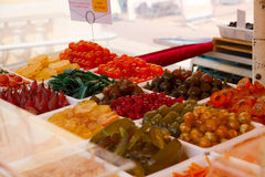 Αγορά Nizza Γαλλία Στοκ εικόνες με δικαίωμα ελεύθερης χρήσης