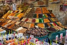 αγορά rambla Άγιος της Βαρκελώνης Joseph Στοκ εικόνες με δικαίωμα ελεύθερης χρήσης